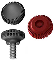 K6 Knurled Press On Thumb Screw Knob Mini Group