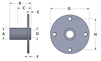 Round Pin Receptacle Line