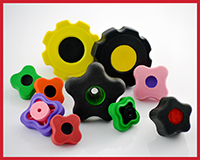 Soft Touch Rubber Knobs