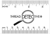 Thread Detective Ruler