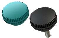 K6 Knurled Knob group