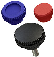 Plastic Knurled Knobs Group